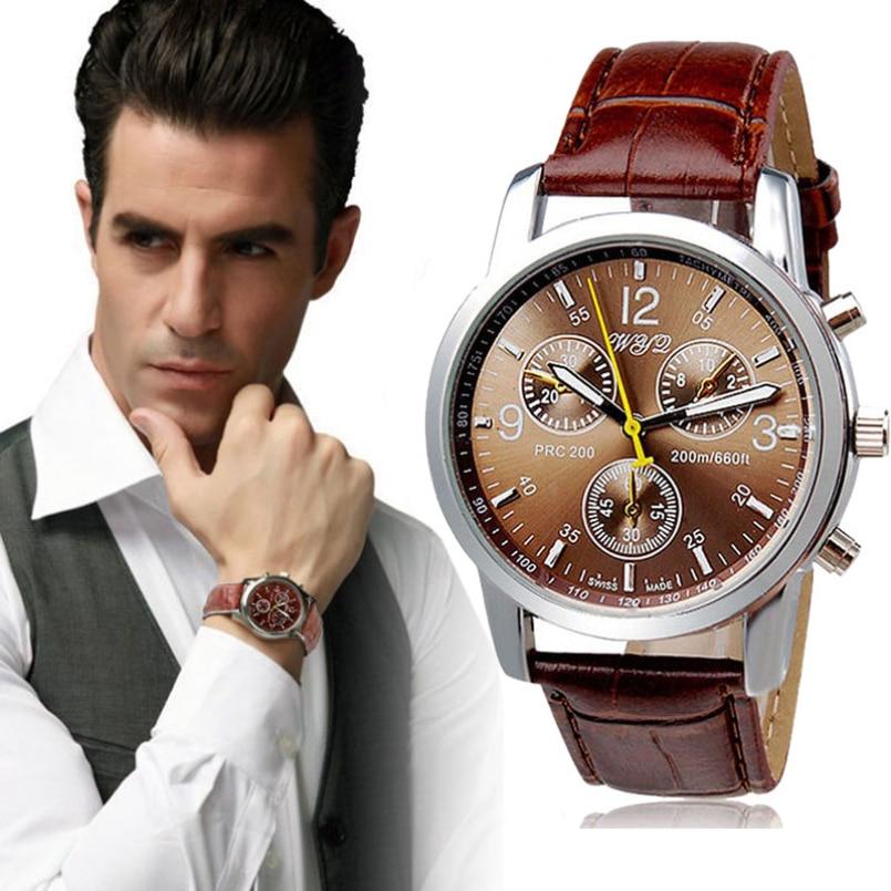 Excellent Quality Fashion Casual Luxury Brand Series Men Watch Geneva Quartz Watches Men Sport Dress Business Watch Gift Sales