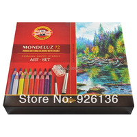 Koh I Noor Mondeluz Aquarell Drawing Set 72 Colored Pencils Water Color Pencils