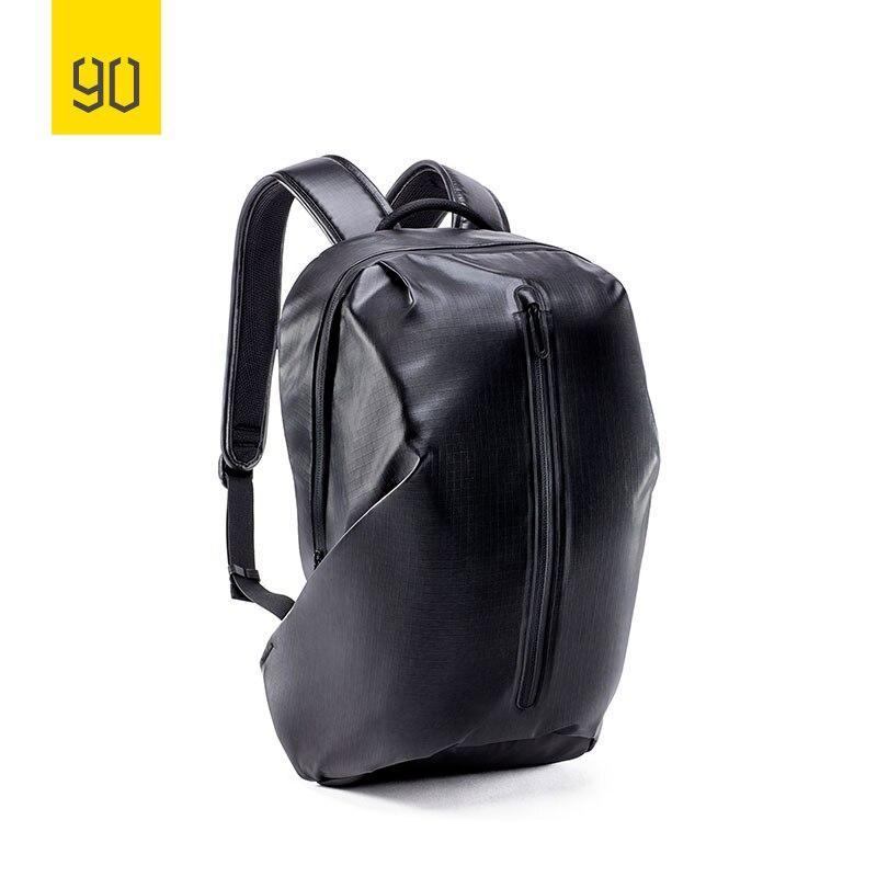 90FUN جميع الطقس حقيبة ظهر خفيفة الوزن المياه مقاومة 18L المدرسة Daypack حقيبة 14 بوصة حقيبة لابتوب للرجال النساء-في حقائب الظهر من حقائب وأمتعة على  مجموعة 1