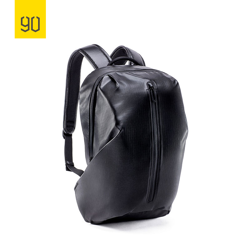 Nice Xiaomi Youpin 90fun Bag Commuter Backpack Barrel Opening 4 Levels Of Water Repellent Simple And Light For Travel Black And White Pens, Pencils & Writing Supplies