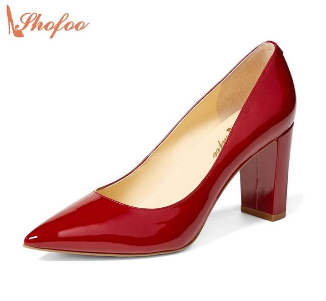 Chaussures Rouges Pour Les Femmes De Printemps YzXk3w