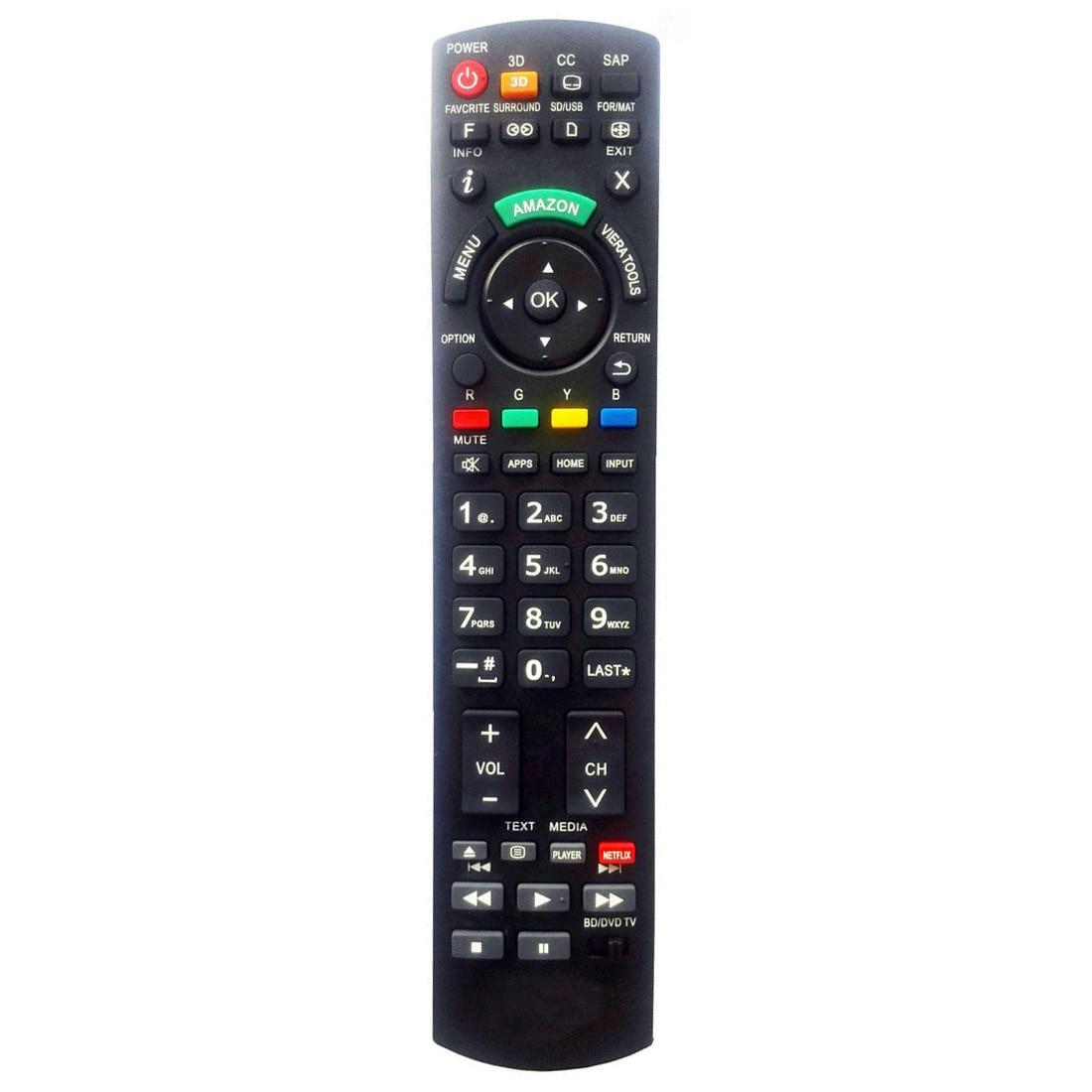 NEW TV Universal Remote For Panasonic N2QAYB000570 N2QAYB000703 N2QAYB000706 new for panasonic tv remote pan 918 for n2qayb000485 n2qayb000100 n2qayb000221