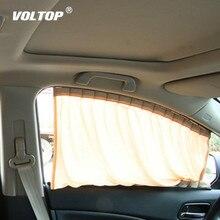 2Pcs Car Sun Shade UV Protection Curtain Window Sunshade Side Mesh Visor Summer Film 4 Size