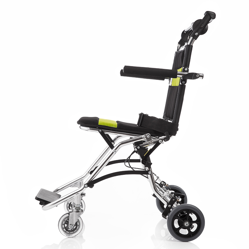 Yuwell Lightweight <font><b>Wheelchair</b></font> Foldable Portable Folding <font><b>Wheelchair</b></font> for Elderly Handicapped Disabled Medical Hospital Wheel Chair