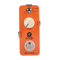 Mooer Ninety Orange Micro Analog Phaser Electric Guitar Effect Pedal Warm Deep Tone Phasing Rich Tone