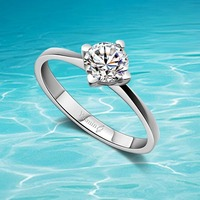 2014 Brand New Fashion Ring Jewelry 925 Sterling Silver Women Rings Fashion Ring Retail