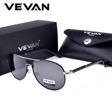 VEVAN Classic Pilot Sunglasses Men Polarized UV400 Luxury Brand Driving Sun Glasses oculos shades men lentes