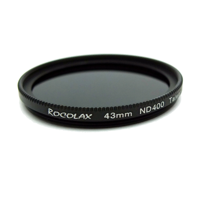 43mm ND400 Optical Neutral Density ND 9-Stop Filter for Camera lenses Low Color Cast Germany Tenology