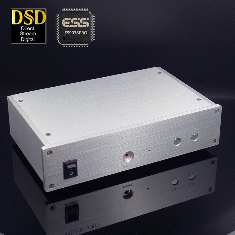 WEILIANG AUDIO SU3B ES9028PRO ES9038PRO USB decoder DAC XMOS XU208