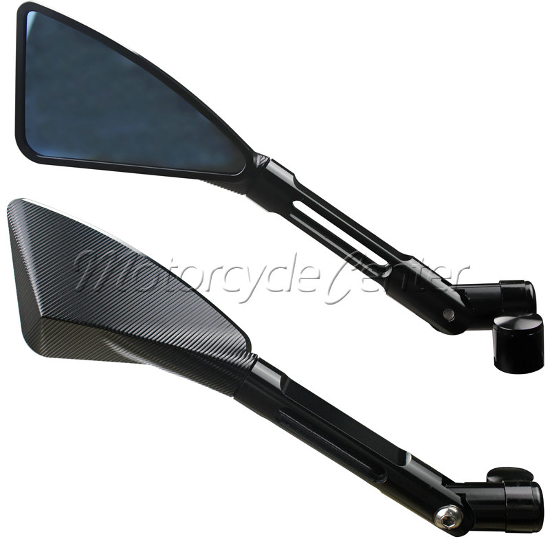 Universal cnc aluminum motorcycle rearview side mirror set for Mirror 750 x 1200