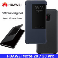 HUAWEI MATE 20 Case 100% Official Original Smart View MATE20 Mirror Window Flip Leather Protect Cover HUAWEI MATE 20 Pro Case