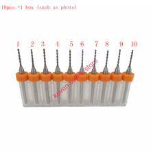 10pcs Set 1 05mm High Quality Hard Alloy PCB Print Circuit Board Carbide Micro Drill Bits