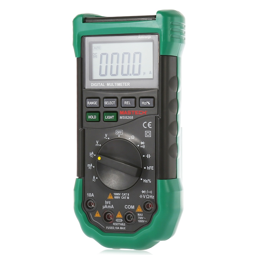 Electrical Frequency Tester : מוצר mastech ms digital multimeter auto range
