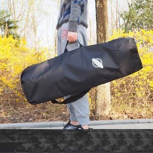 Image 3 - TOMBUG 85X33cm Regular Skateboard Backpack Single Shoulder Double Rocker Bags Water Proof Carrying Handbags