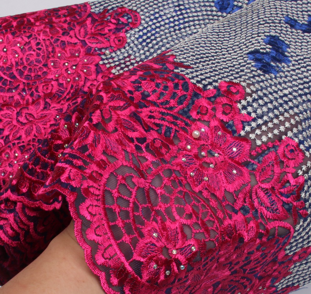 New Designs African French Lace Fabric High Quality Nigeria French Net Lace 2017 With Rhinestones For Women  NA652B-1New Designs African French Lace Fabric High Quality Nigeria French Net Lace 2017 With Rhinestones For Women  NA652B-1
