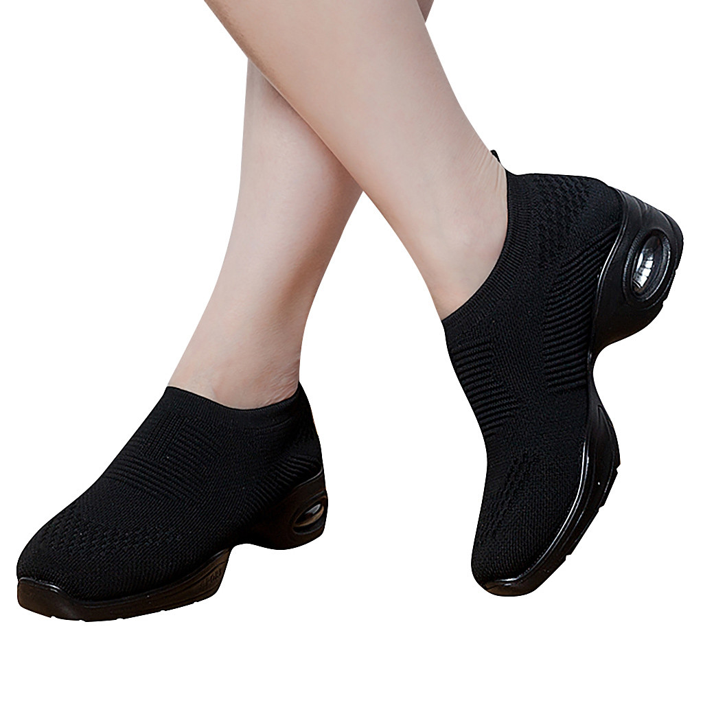 Sneakers Women Black  Outdoor Mesh Sports Wedge Platform Runing Breathable Shoes Sneakers Women Shoes Sneakers 2019#G6