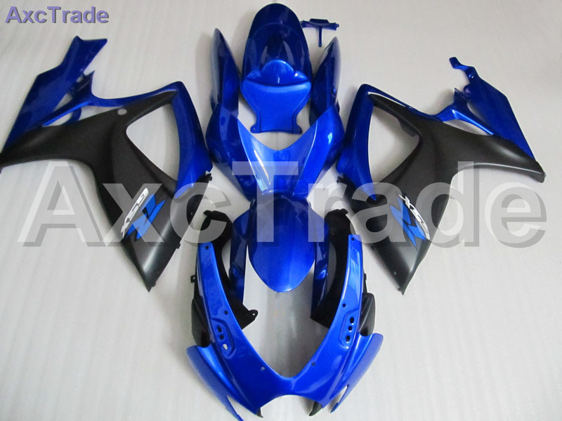 Plastic Fairing Kit Fit For Suzuki GSXR GSX-R 600 750 GSXR600 GSXR750 2006 2007 K6 06 07 Fairings Set Custom Made Motorcycle