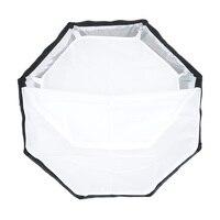 TRIOPO 65 см зонтик софтбокс Портативный Открытый восьмиугольник для Godox V860II TT600 TT685 YN560 III IV TR-988 Вспышка Speedlite Мягкая коробка 2