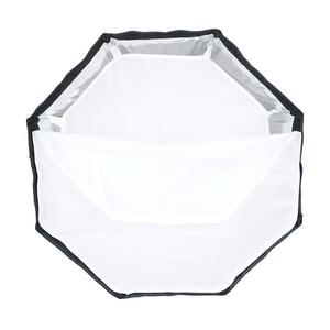 Image 3 - TRIOPO 65 см зонтик софтбокс Портативный Открытый восьмиугольник для Godox V860II TT600 TT685 YN560 III IV TR 988 Вспышка Speedlite Мягкая коробка
