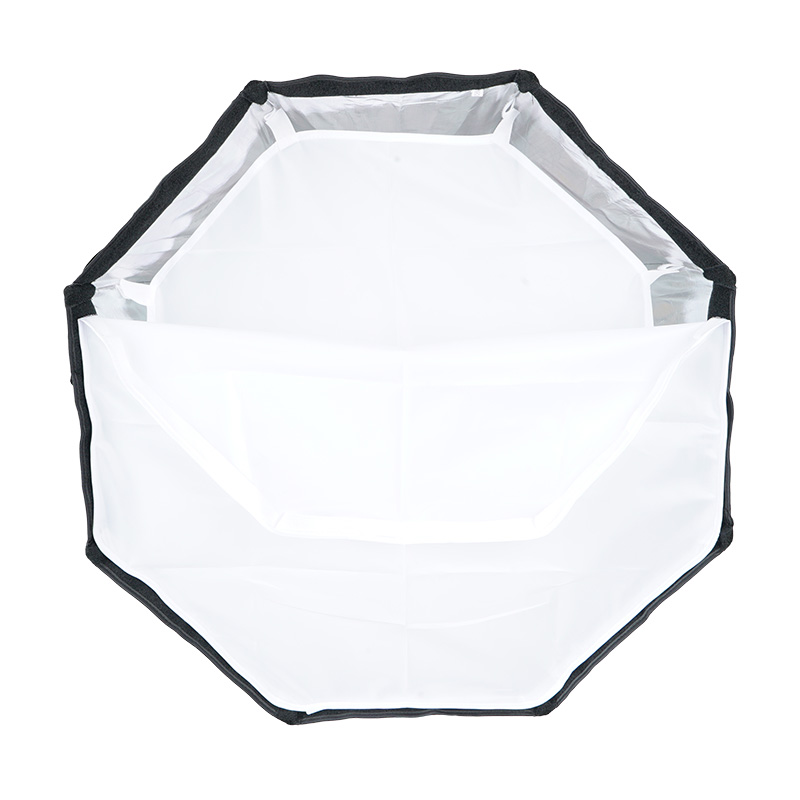 TRIOPO 65cm guarda-chuva softbox octógono portátil externo para - Câmera e foto - Foto 3