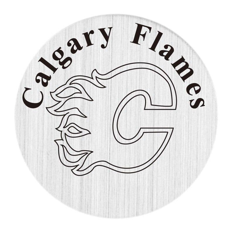Калгари 22 мм Нержавеющаясталь с плавающей медальон плиты НХЛ плавающий Талисманы Fit 30 мм жизни Стекло медальоны 20 шт./лот