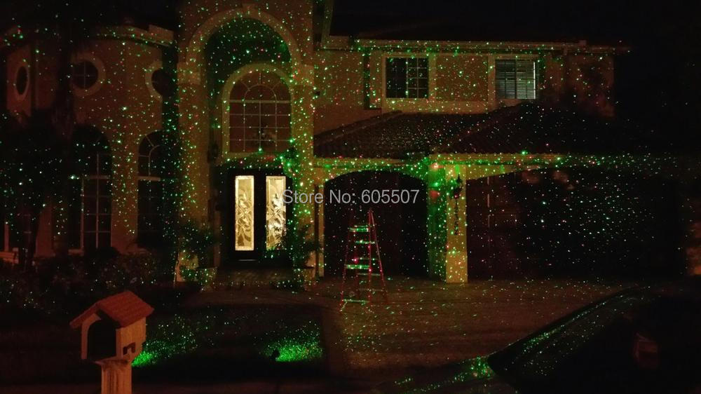 Clearance sale Christmas lighting Red&Green outdoor Garden Laser ...
