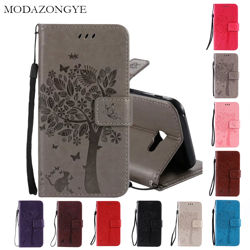 Luxury Wallet PU Leather <font><b>Case</b></font> Cover For <font><b>Samsung</b></font> <font><b>Galaxy</b></font> <font><b>A5</b></font> A 5 2017 <font><b>A520</b></font> A520F A 520F SM-A520F <font><b>Case</b></font> MODAZONGYE <font><b>Flip</b></font> Phone <font><b>Case</b></font> image