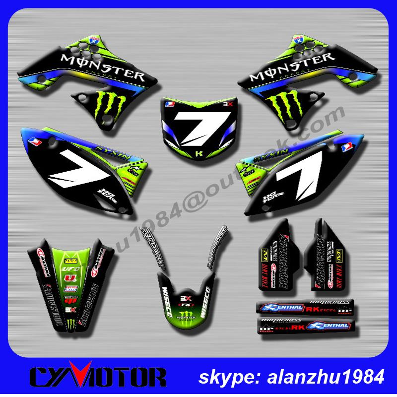 Online Get Cheap Motorcycle Graphic Kits Aliexpresscom Alibaba - Decal graphics for motorcycles