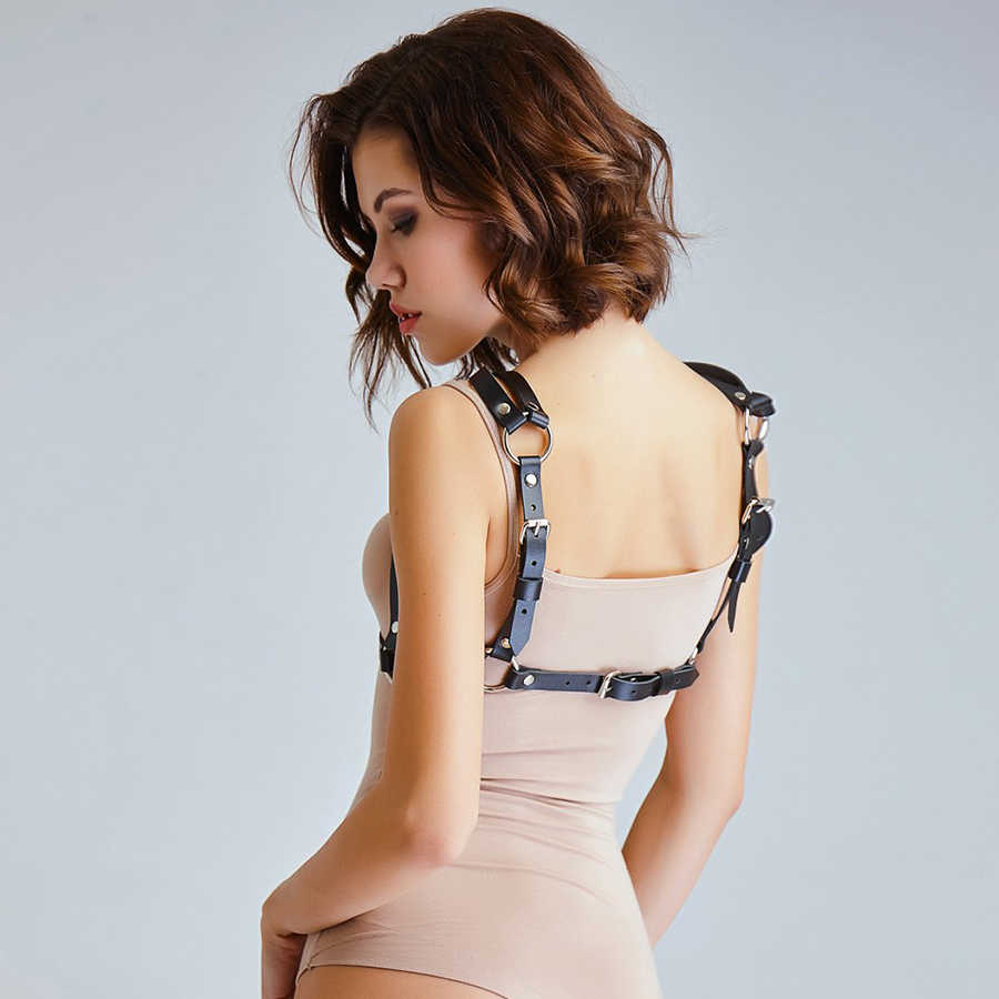 UYEE Hot Bán Chính Hãng PU Dây Đeo Thắt Lưng Da Cho Phụ Nữ Sexy Khai Thác Vớ Nữ Khiêu Dâm Phụ Kiện Pastel Gothic Belt LB-136