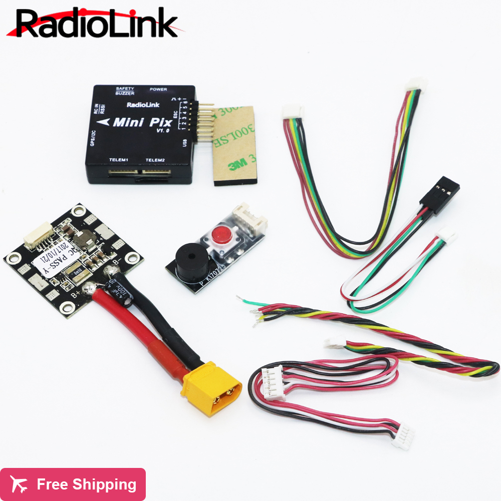 Radiolink Mini PIX Flight Control V1.0 Top Configuration Vibration Damping by Software Atitude Hold for Pixhawk RC Racer Drone ...