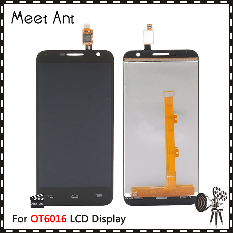 <font><b>For</b></font> <font><b>Alcatel</b></font> One Touch Idol 2 mini 6016 OT6016 6016E <font><b>6016D</b></font> 6016A 6016X LCD Display Screen With Touch Screen Digitizer Assembly image