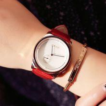 Muñeca de Cuero genuino Deportes Relojes Mujer de Cuarzo Horas Fecha Reloj Ocasional Impermeable Masculino Del Relogio Marca de Lujo Reloj de Señora