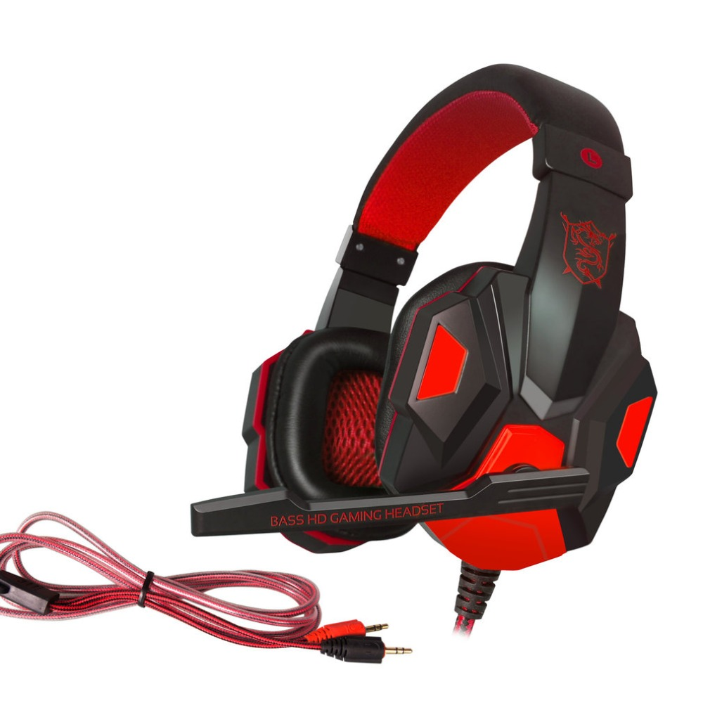 Colorful Gaming Earphone Over Ear PLEXTONE PC780 Game Headphone Earphone Headband With Microphone USB LED Light For PC Gamers