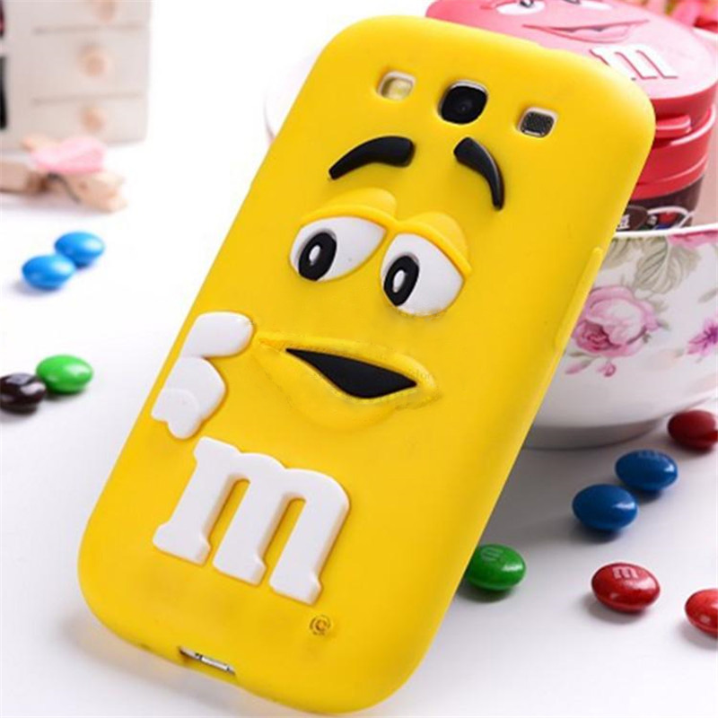 sports shoes f8dce 5f374 US $2.99  M&M Chocolate case for Samsung Galaxy Core Prime G360 G360H p  Cute 3D M&M's Chocolate Candy Silicone Cell Phone Case Cover P10 on ...