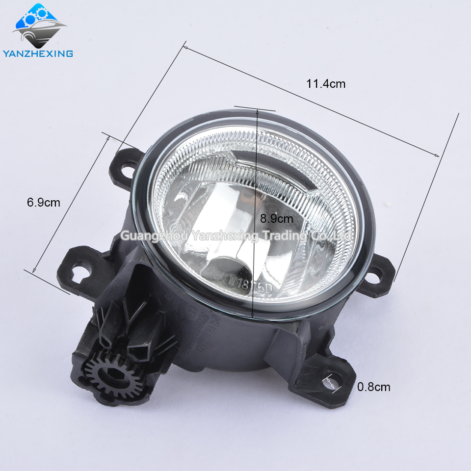 2pcs Fog Light Lamp For Honda Fit 2017 2016 Jazz Crider Odyssey Civic Oem 33950 T6p H01 33900 In Car Embly From Automobiles