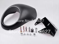 New Cafe Fairing headlight mask front Fly Screen Racer Cowl Flyscreen Visor For Harley drag dyna Sportster V Rod FX XL 883