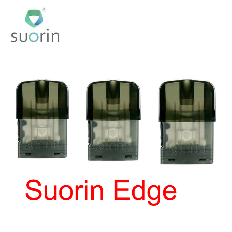 1PC/ 3PCS/ 5PCS/10PCS/ 20PCS Original 1.5ml Suorin Edge Pod Cartridge 1.4ohm Coil For Suorin Edge Pod Kit Leakage-proof Vape Pod