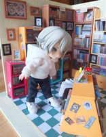 Obitsu11 OB11 puppe kleidung hoodie mit big cap verfügbar für cu-poche OB11 puppe zubehör puppe shirts