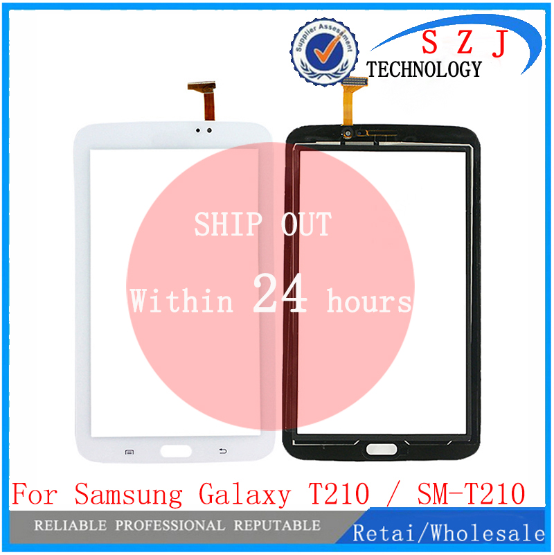 New 7 inch For Samsung Galaxy Tab 3 T210 / SM-T210 Tab3 LCD Touch Screen Lens Glass Outer Front Panel Free Shipping 100% new 7 9 inch lcd screen 100% newbrand new original replacement for i pad mini lp079x01 sm av lcd screen