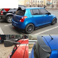 Fit for SUZUKI SWIFT 3d Carbon fiber rear auto spoiler Wing rear wing high quality
