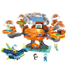 The Octonauts Model Building Blocks Sets Toys for children Compatible Duplo Toys & Hobbies Barnacles Kwazii Peso Tweak