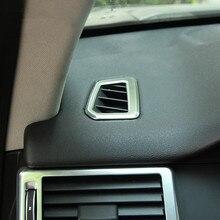 2 pz Cruscotto Aria Condizionata Decorazione Presa Cornice ABS Assetto Decalcomanie Per Land Rover Discovery Sport Accessori per Interni Auto