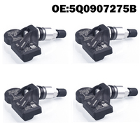 4 PCS MQB Car Tire Pressure Monitor Sensor TPMS 5Q0907275B for Audi A3 Q7 Q5 A4 A5 VW Arteon Teramont, passat phaeton phideon