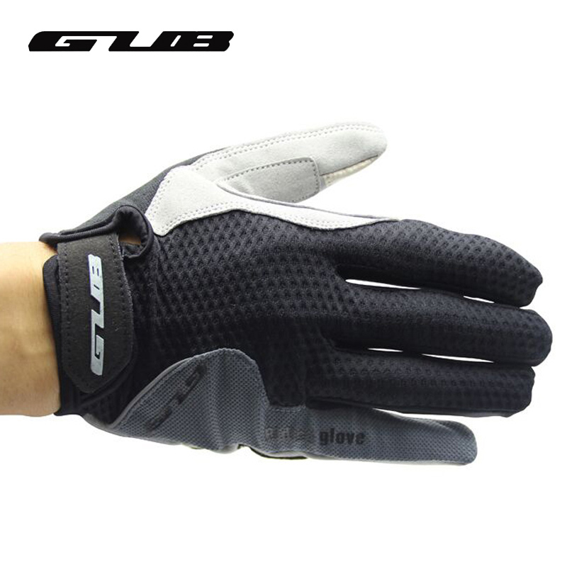 GUB 2025 Touch Screen Full Finger Cycling Gloves Unisex Winter Warm Outdoor Sports Riding Bike Bicycle Gloves Red Blue Gray