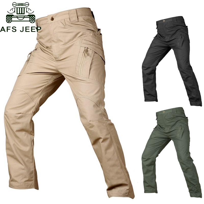 IX9 Tactical Pants Military Cargo Pants Men Casual Pant Work Trousers Army Style Pantalon Black Thin Combat Baggy Trousers handbag