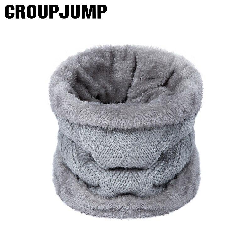 Cotton Flax Scarf Sweet Soft Children Thick Shawl Winter Warm Boy Girls Circle Loop Infinity Scarf