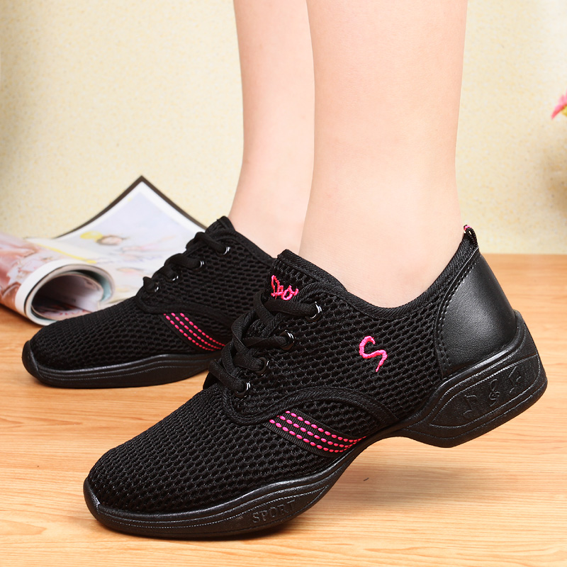 Breathable Women Dance Sneakers Brand Ladies Aerobics Shoes Women's Dance Shoes