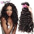Virgin Peruvian Natural Wave Human Hair Extensions 3pcs/lot 100g Good Peruvian Virgin Hair Deep Wavy Natural Weave Wholesale