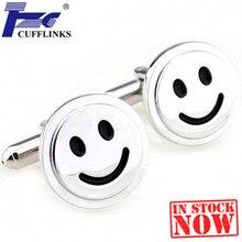 Серебряные запонки с улыбками запонки 2 пары Акция