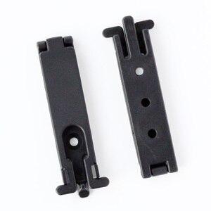 10 шт. QingGear Molle Lok Mag Carrier для Molle System Molle Lock крепление устройства DIY нож оболочка кобура с винтами